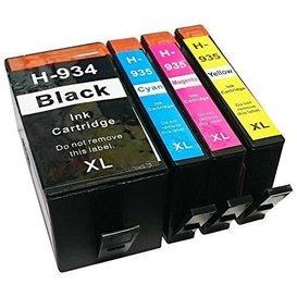 HP 934/935 Huismerk inktpatronen XL Set 4 stuks
