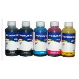 Canon CLI-551, CLI-541, CLI-546, BCI-3, BCI-6 Dye/Pigment inkt 100 ml. Set 5 kleuren