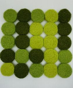 Topfuntersetzer grün