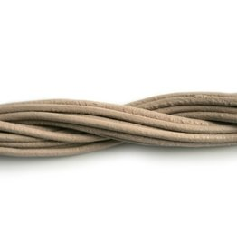CDQ leather cord 2mm petal 1 meter .