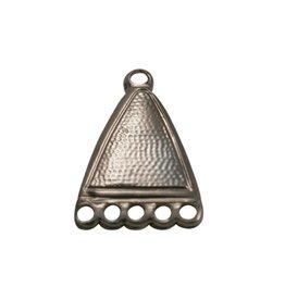 CDQ distributor eloxal antique copper pendant 5 eyes