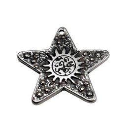 CDQ Moon&star zilverkleur