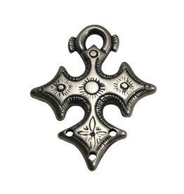 CDQ Keltisch Kruis zilverkleur