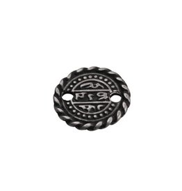 CDQ Munt klein 16mm zilverkleur
