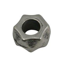 CDQ Kraal Metaal schroefje zilverkleur