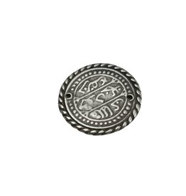 CDQ coin 31mm silver plating