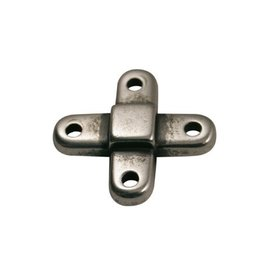 CDQ connector cross silver plating