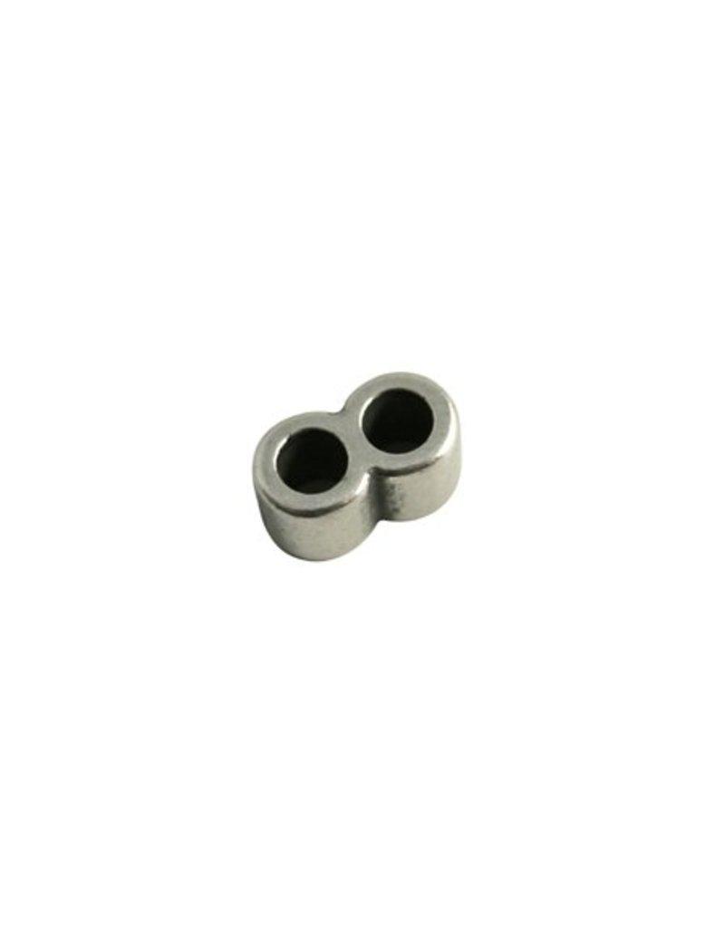 CDQ Schuiver 2gats round 15x8mm