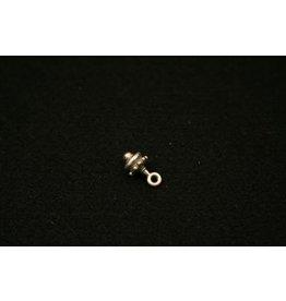 CDQ hanger keltisch 7mm zilverkleur