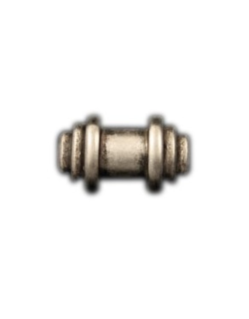 CDQ rivet bead  29mm silver plating