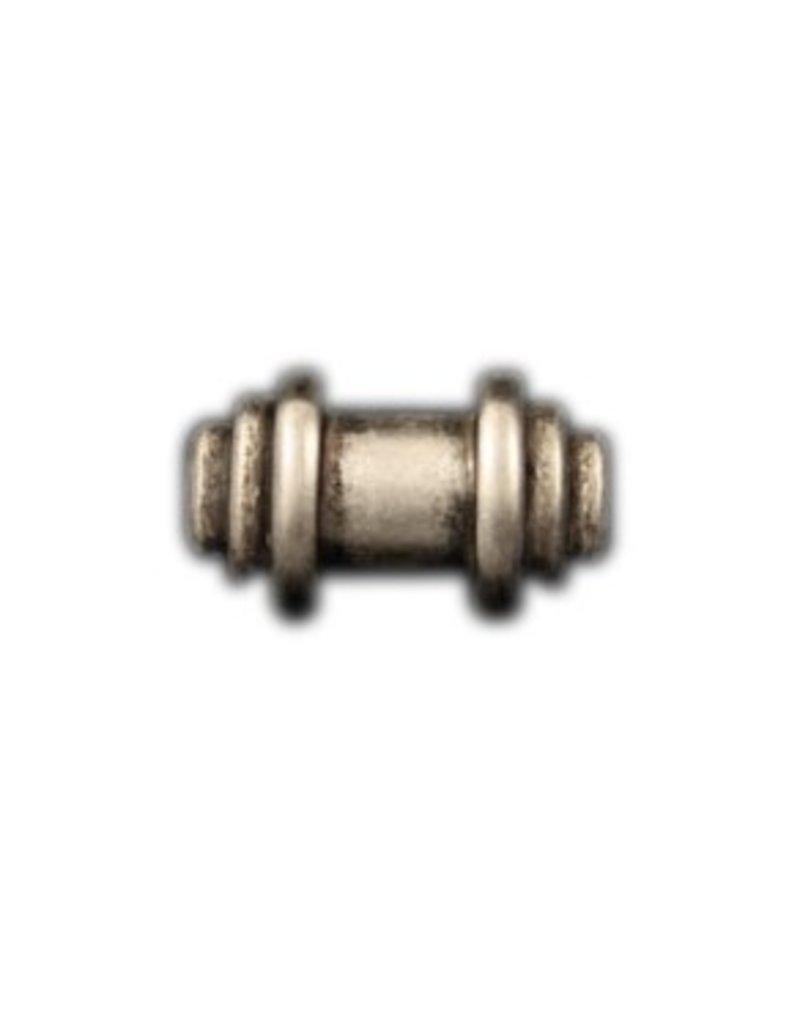 CDQ rivet bead  29mm silver plating