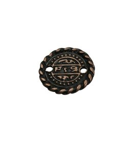 CDQ Munt small 16mm copper plating.