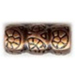 CDQ Metaal Tonnetje brons kleur.