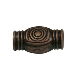 CDQ zamak bead spiral copper plating.