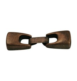 CDQ metal clasp2-parts 10mm copper plating.