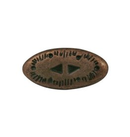 CDQ Inslag western 2-delig brons kleur.