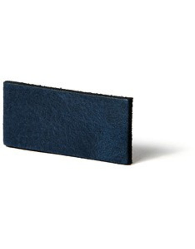 CDQ Leerstrook Nederlands splitleer 10mm Blue  10mmx85cm verpakt per 4 stuks