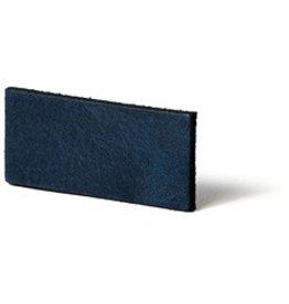 CDQ Leather DIY bracelet straps 25mm Blue  25mmx85cm verpakt per 2 stuks
