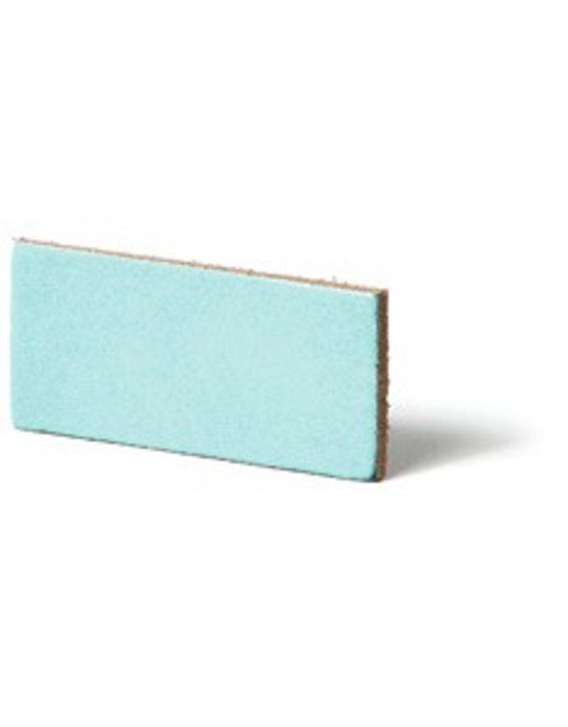 CDQ Leather DIY bracelet straps 35mm Aqua  35mmx85cm verpakt per 2 stuks