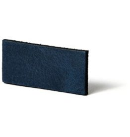 CDQ Leather DIY bracelet straps 35mm Blue  35mmx85cm