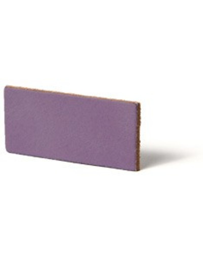 CDQ Leather DIY bracelet straps 35mm Lavender  35mmx85cm verpakt per 2 stuks