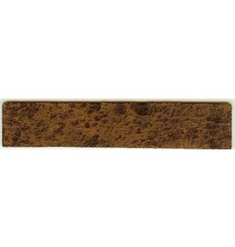 CDQ leerband bruin spotty 14.5cmx29mm