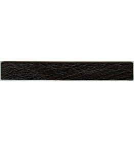 CDQ leerband zwart crack 14.5cmx19mm