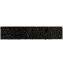 CDQ Armband Leder schwarz Knistern 14.5cmx29mm