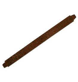 CDQ leerband crack bruin 13mm M