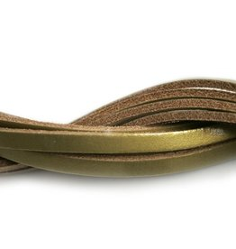 CDQ Leerstrook goud 6mmx85cm