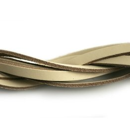 CDQ leather strip natural 85cm