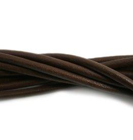 CDQ lederband  4mm brown 100cm