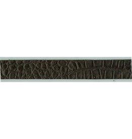 CDQ leather wristband strip 13mm Dragon Black 13mmx85cm