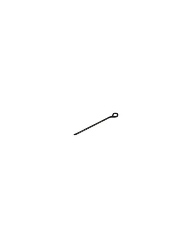 CDQ pin 20mm burned black