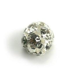 CDQ strassbol 10mm silver plated