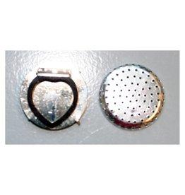 CDQ Dehnungs Schal Clip 35mm Silber 5 St