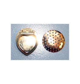 CDQ Dehnungs Schal Clip 28mm Gold Farbe 5 St