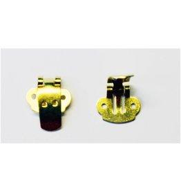 CDQ Schoenclip goudkleur per 30 stuks