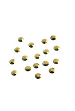 Preciosa MC Flatback ss16 crystal Aurum gold color per 36 pieces