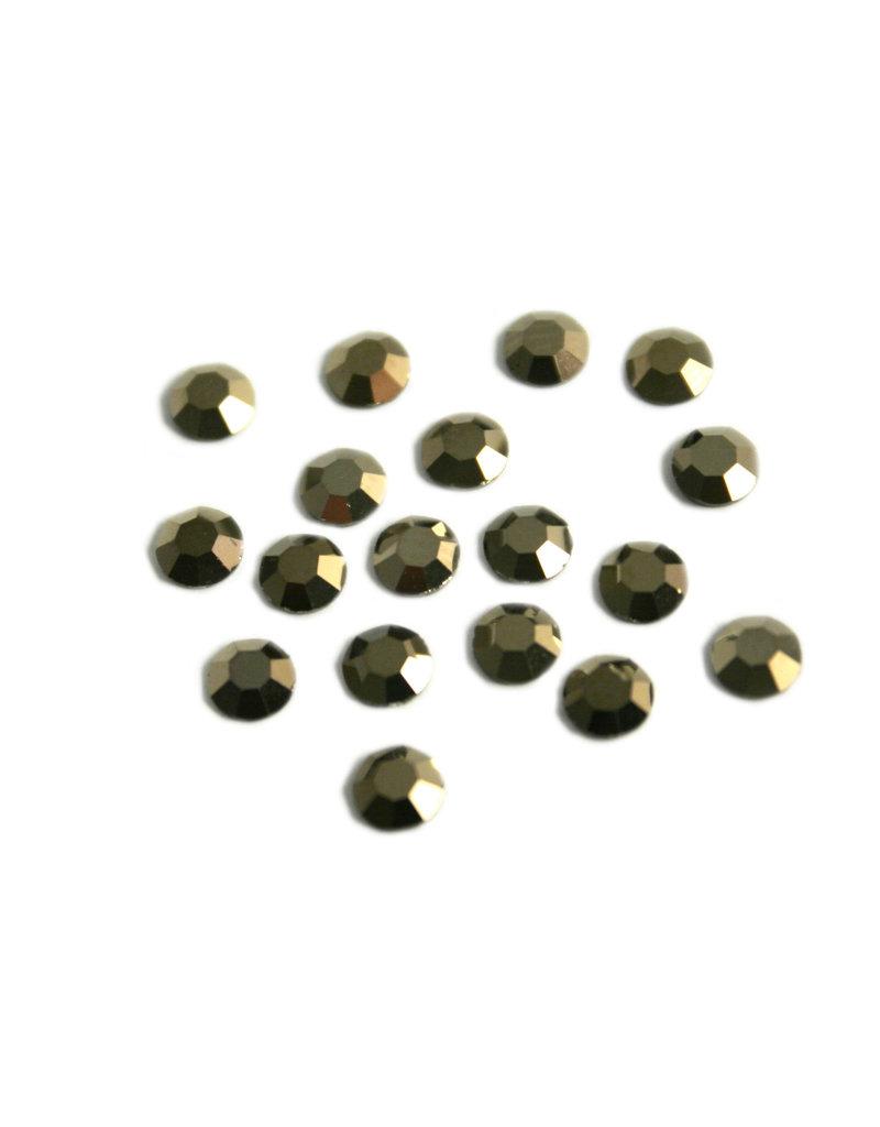 Preciosa MC Flatback ss16 crystal Monte Carlo coating per 72 pieces
