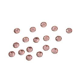 Preciosa MC Flatback ss16 crystal licht rose  per 72 stuks