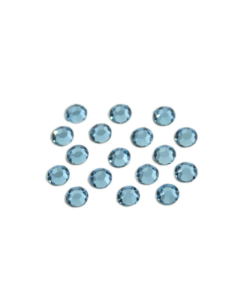 Preciosa MC Flatback ss16 crystal Aqua Bohemica per 72 pieces
