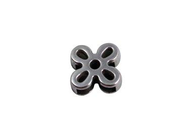leather metal sliders 10mm