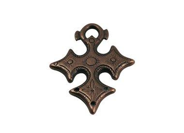 slider beads copper