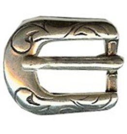 CDQ Buckle western 6mm silver