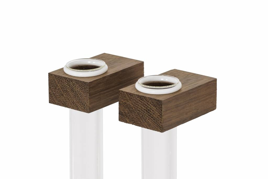 FIGR1 CONTAINERS - JATOBA - (SET OF 2)