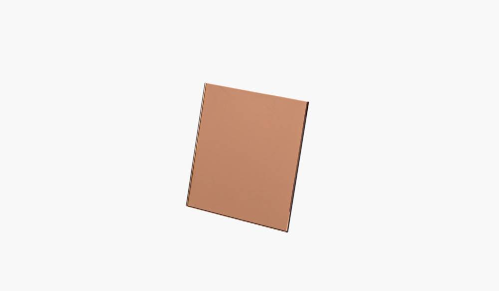 FIGR1 REFLECTOR SQUARE - ROSE