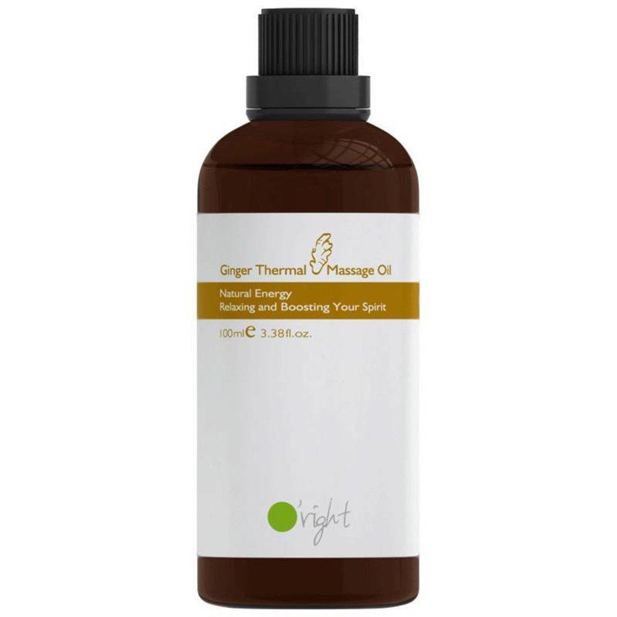 Ginger thermal oil 100ml