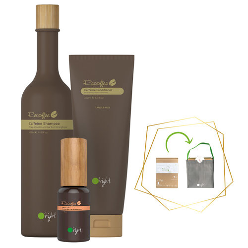 3x Haarverzorging Giftbox Caffeine