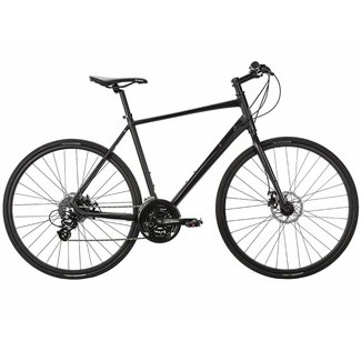 Populo Fusion Disc 2.0 Hybrid Bike - Black